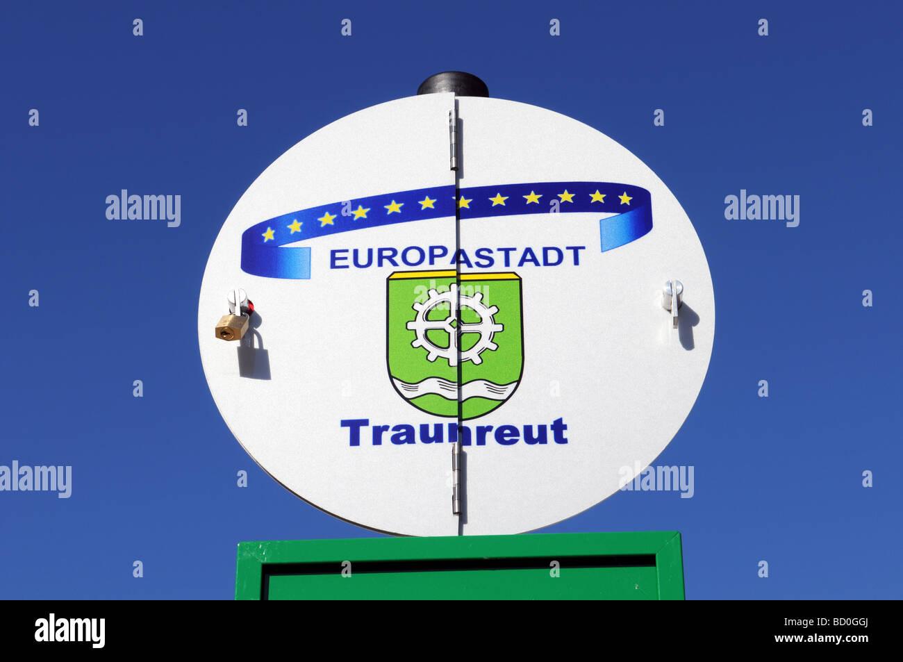 Traunreut Stock Photo