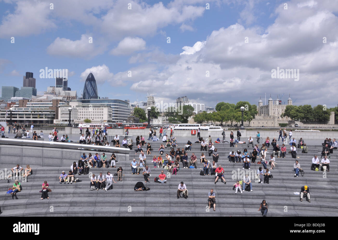 Greater London Authority City Hall building London - Stock Image