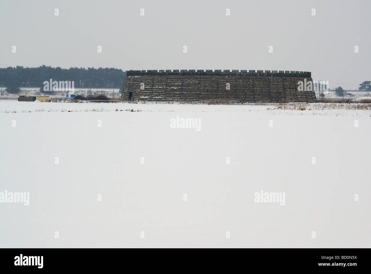 Raddusch Slawenburg Raddusch Slavic Fort 02 - Stock Image