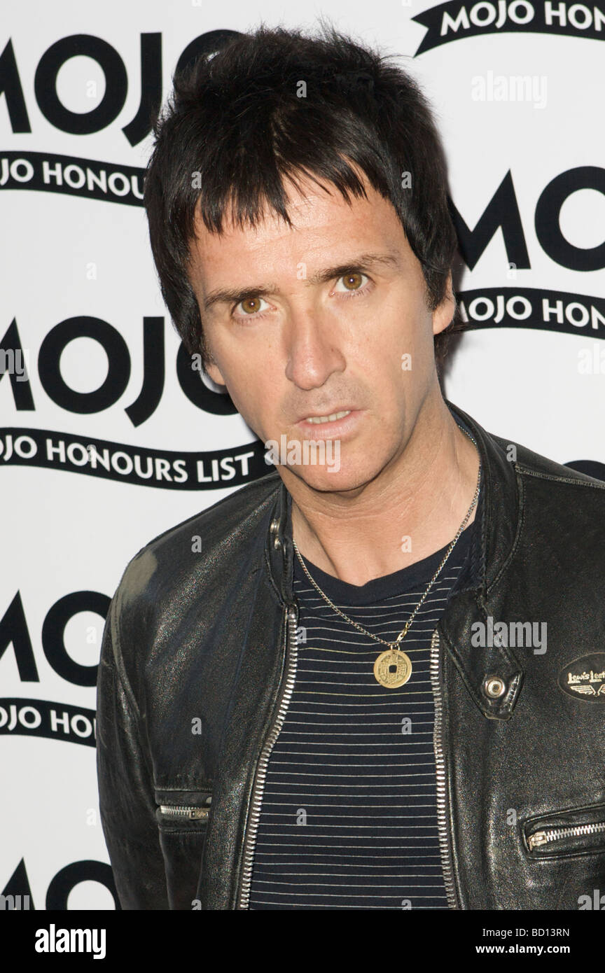 LONDON 11 June Pic shows Johnny Marr attending the Mojo Honours List The Brewery London 11th of June 2009 - Stock Image