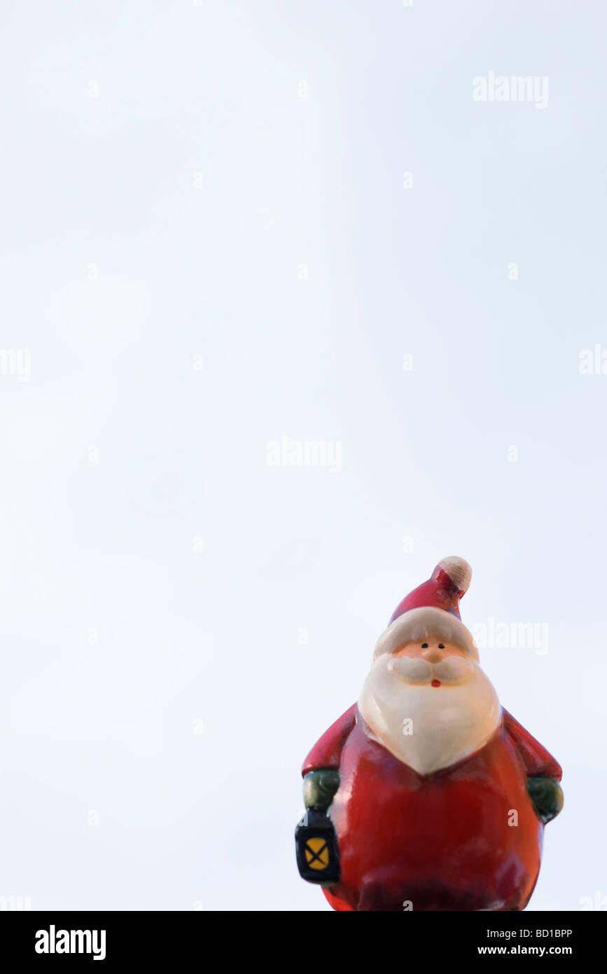 Santa Claus figurine - Stock Image