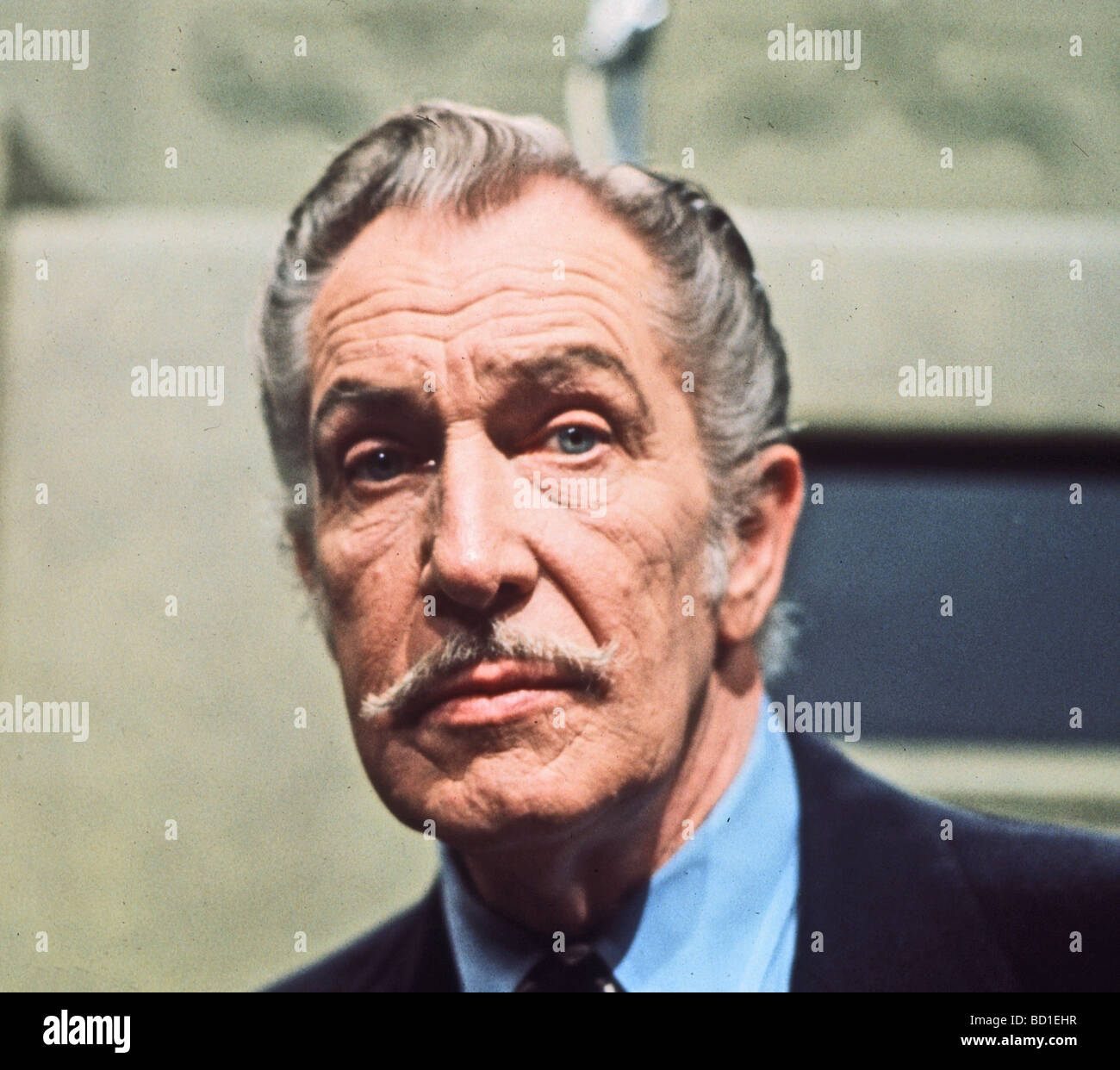 Vincent Price Uk Actor Who Specialised In Horror Roles Stock Photo Alamy
