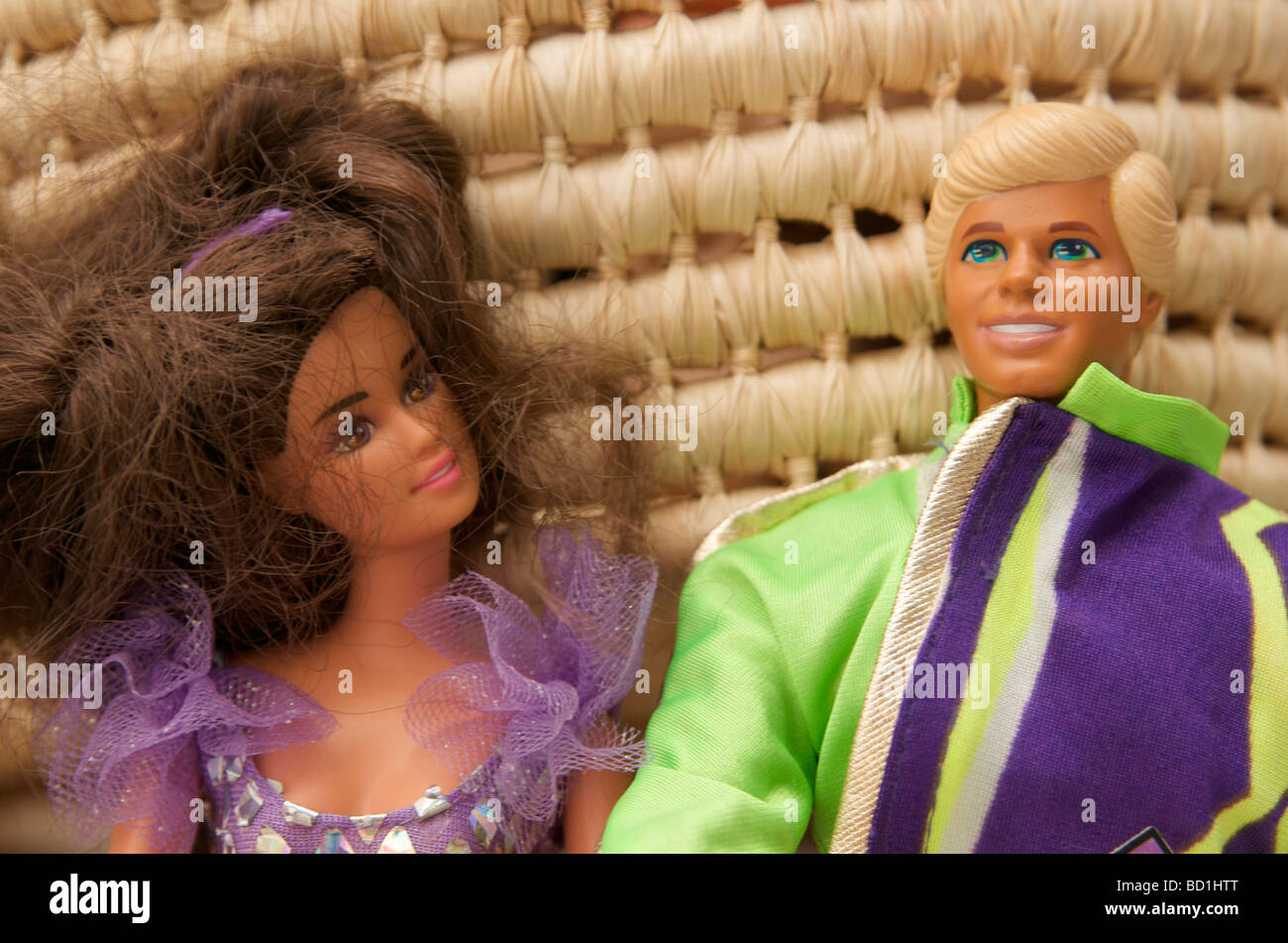 Barbie and Ken - Stock Image