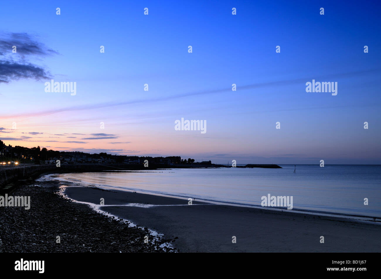 Colwyn Bay, a view towards Rhos on Sea, North Wales, United Kingdom. - Stock Image