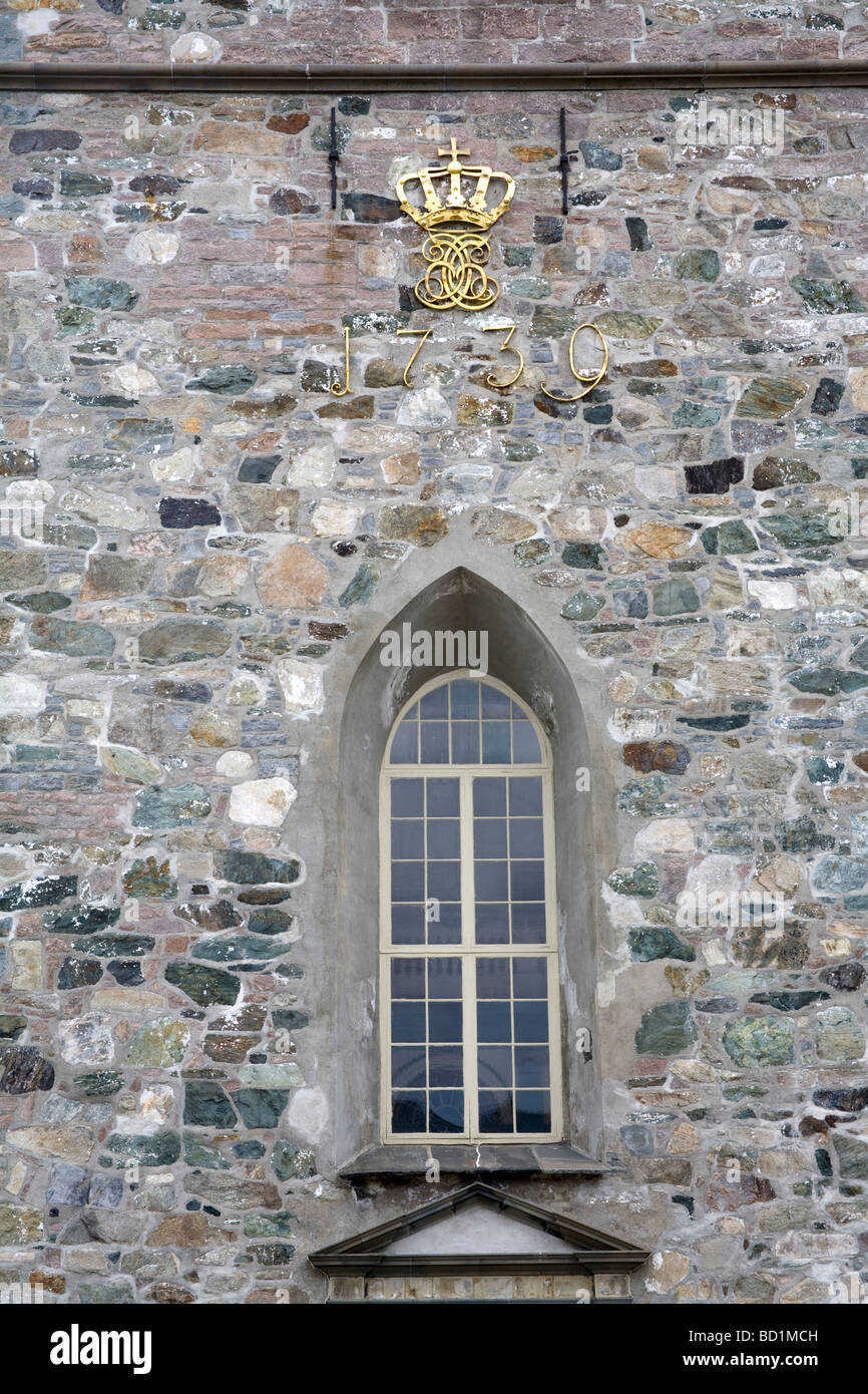 Var Frue Church Trondheim City Nord Trondelag Region Norway Scandinavia - Stock Image