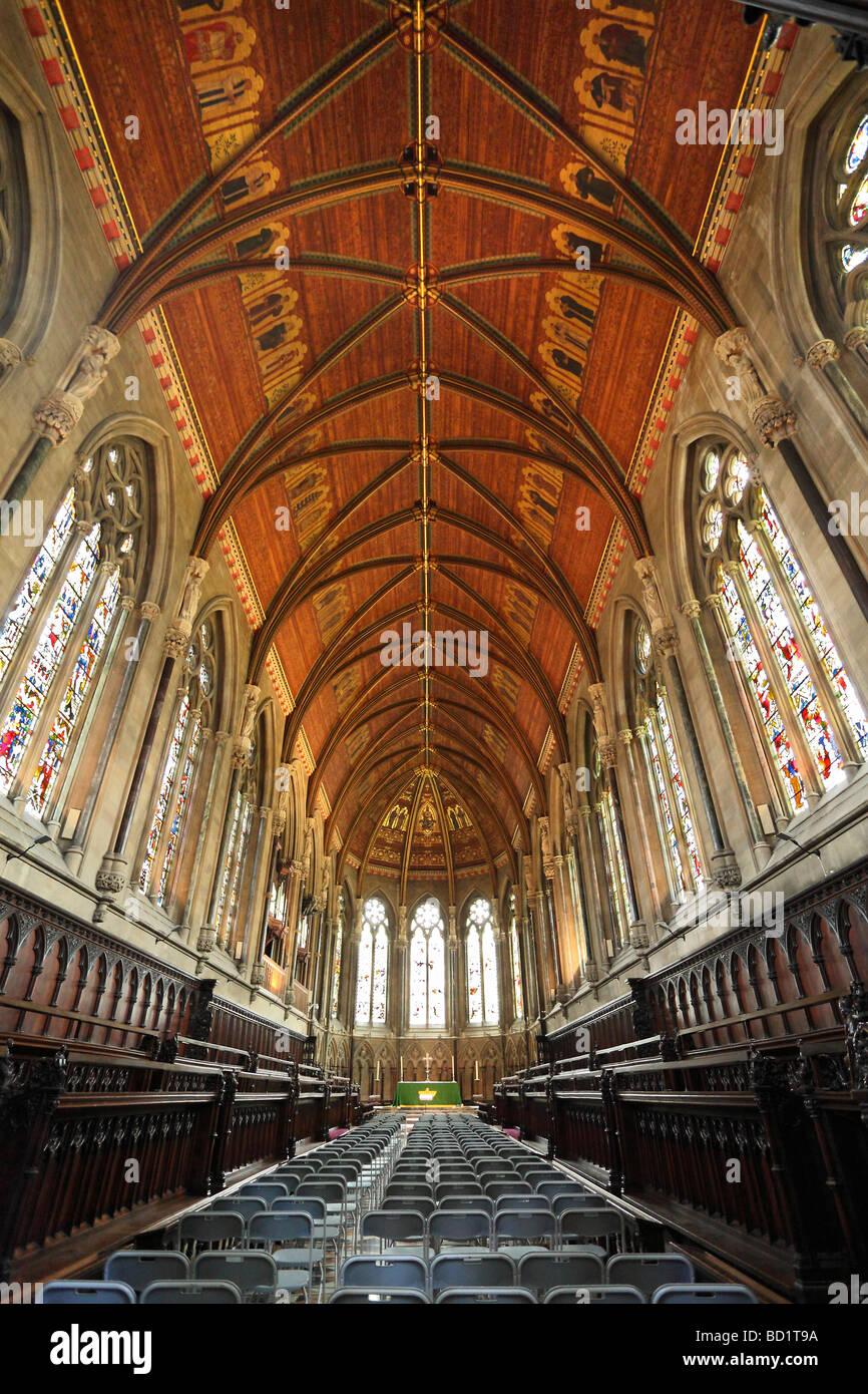 St John's College Chapel, Cambridge 4 - Stock Image