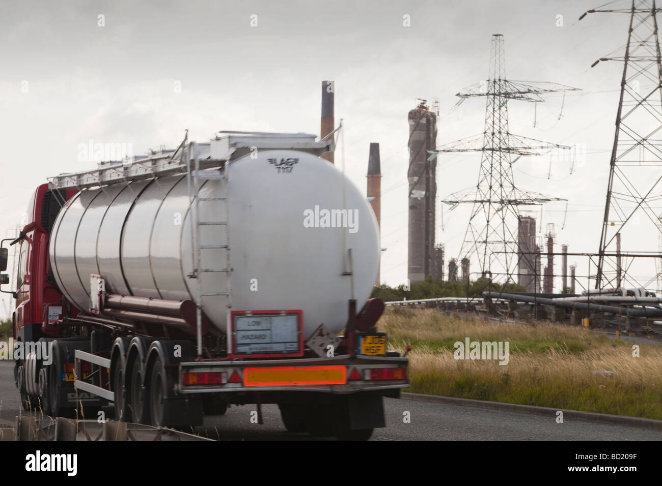 Heavy industry on Teeside, UK. - Stock Image