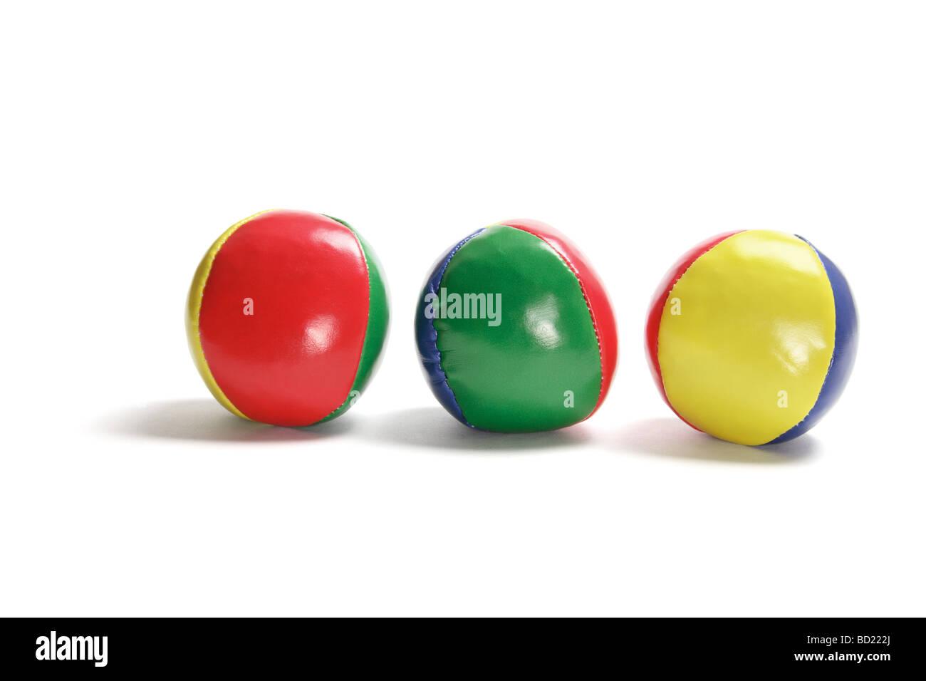 Juggling Balls - Stock Image