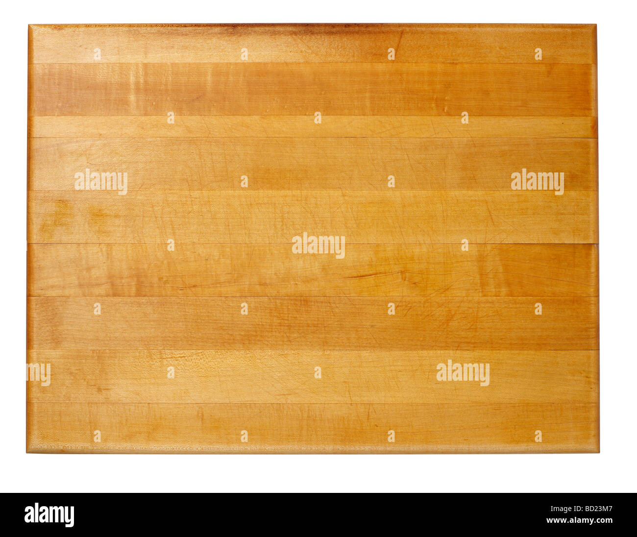 wood cutting board - Stock Image