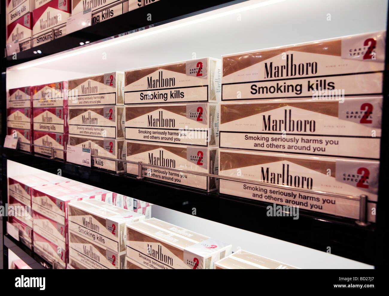 Price of a carton of Marlboro cigarettes in Virginia