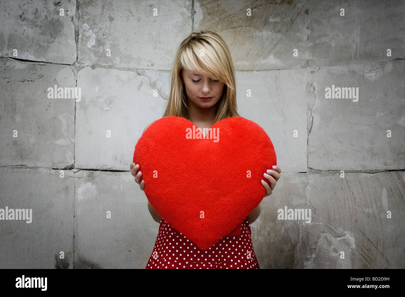 Waiting for love - Stock Image
