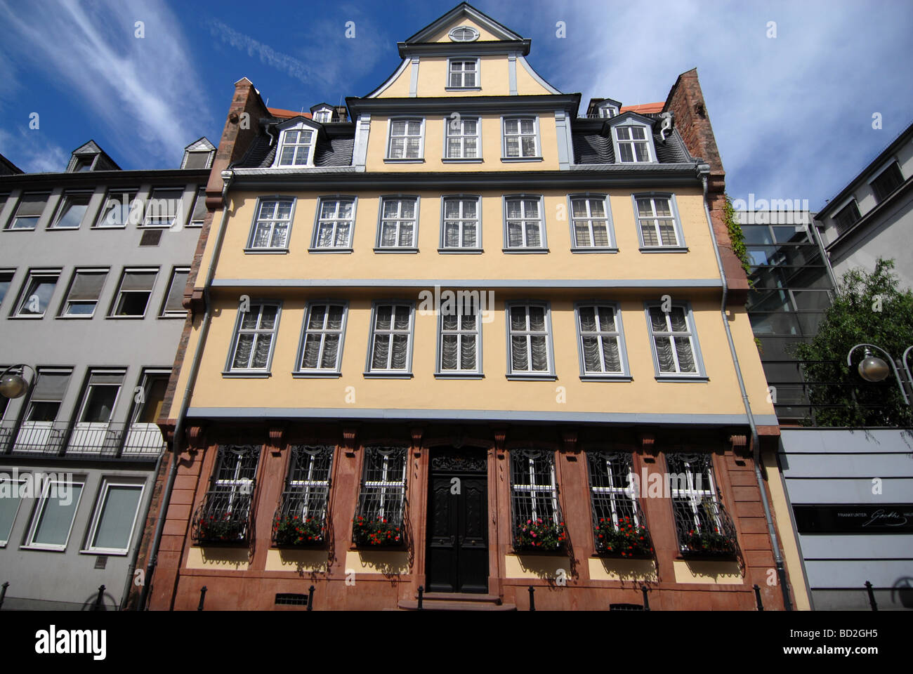 Goethe Haus Frankfurt Am Main Germany Stock Photo 25257825 Alamy