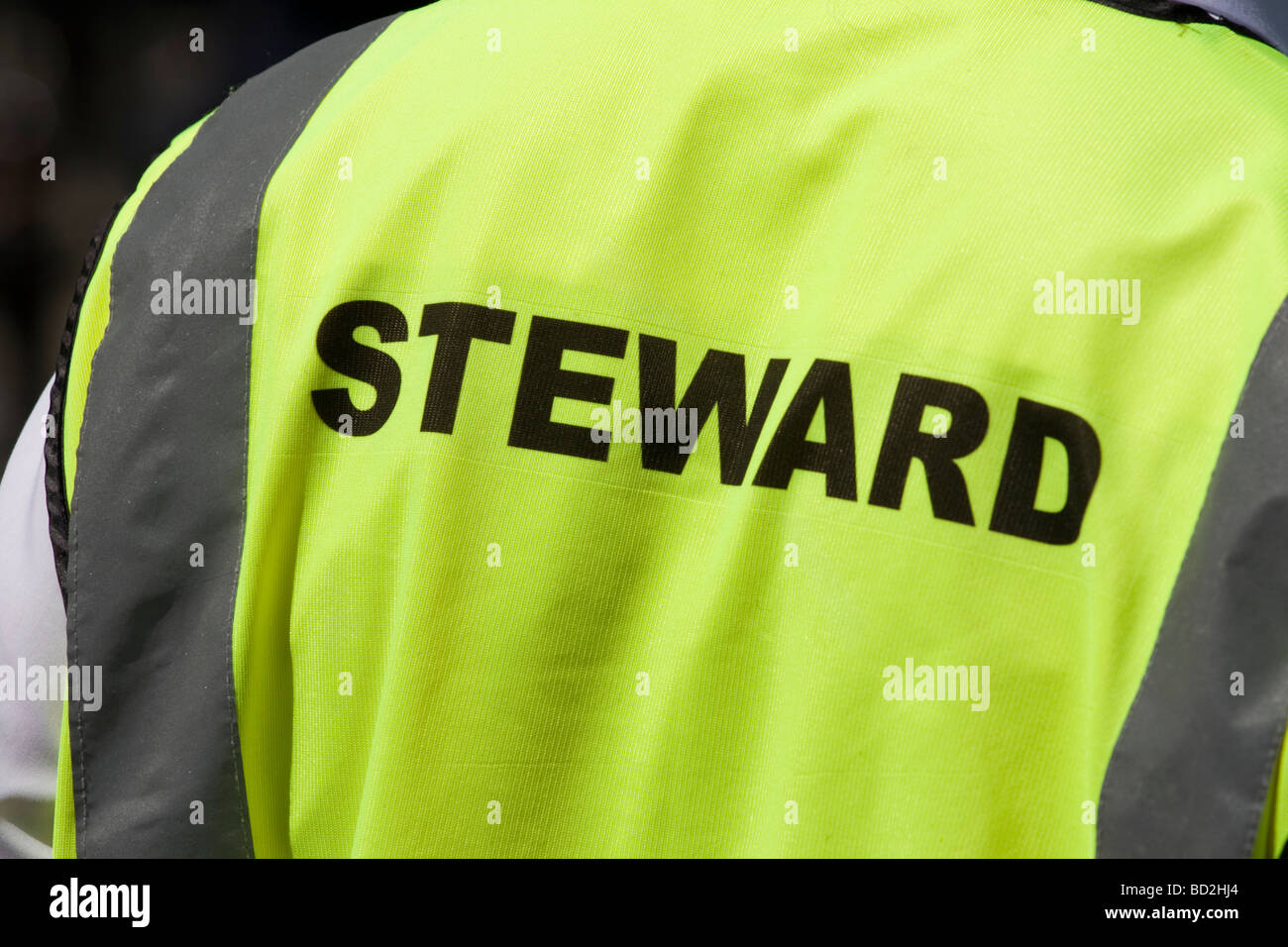 VestLondonEnglandUk Steward In A Stock High Photo Visibility CoxedB