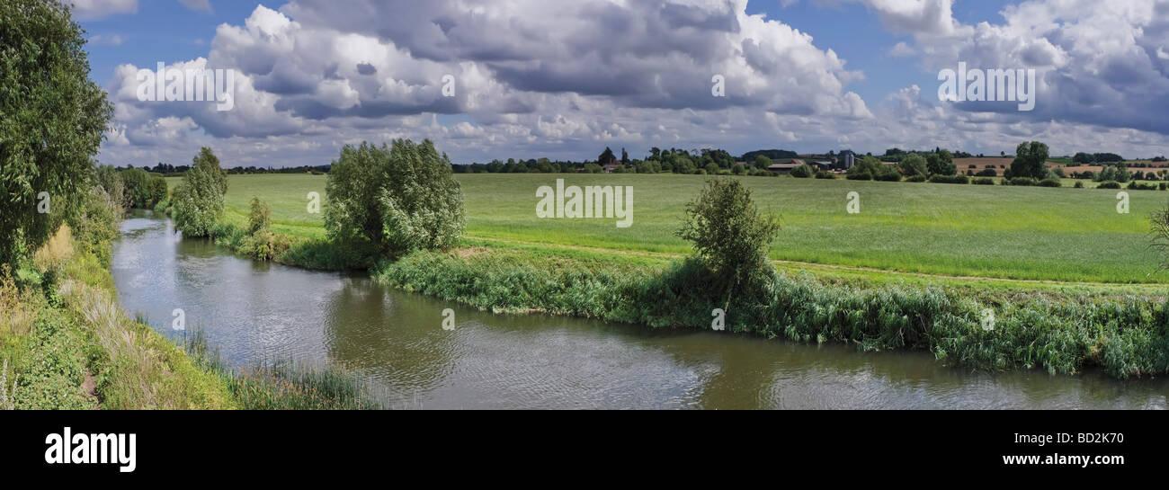 river avon stratford upon avon warwickshire england uk - Stock Image