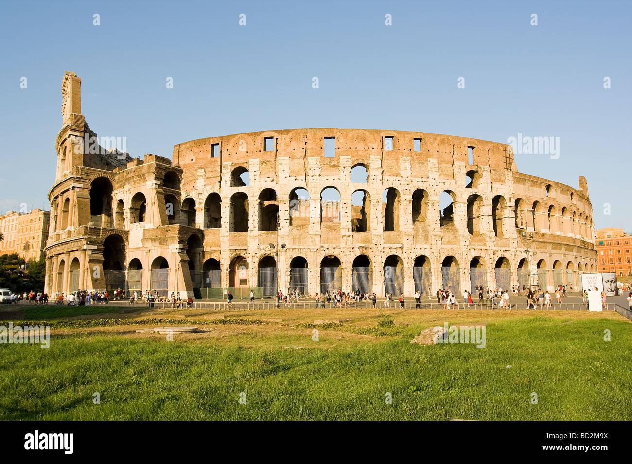 Colosseum wideangle - Stock Image