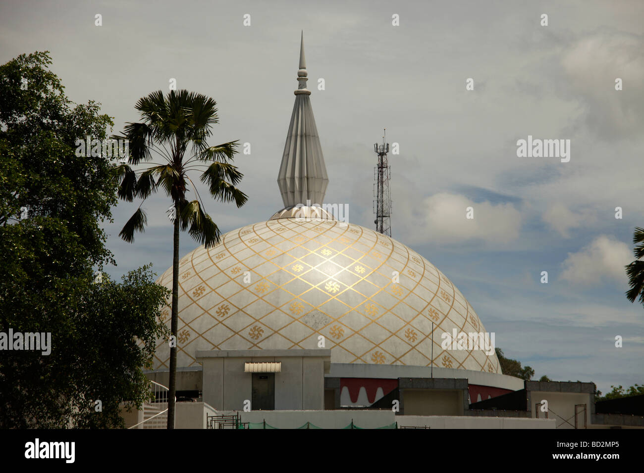 Building of the Royal Regalia Museum in the capital city Bandar Seri Begawan Brunei Asiatisch Asian Stock Photo