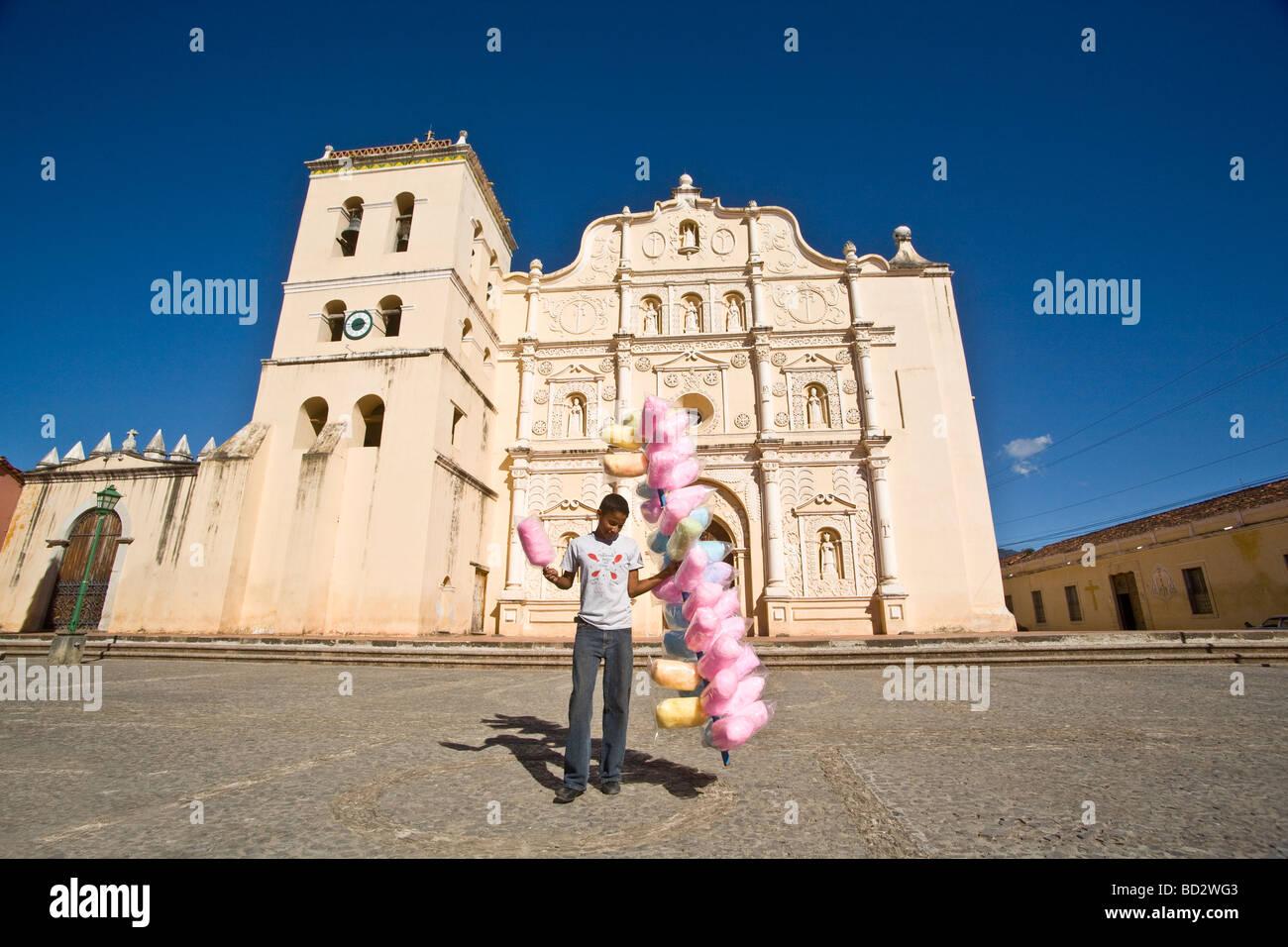 Cathedral of Comayagua, Honduras - Stock Image