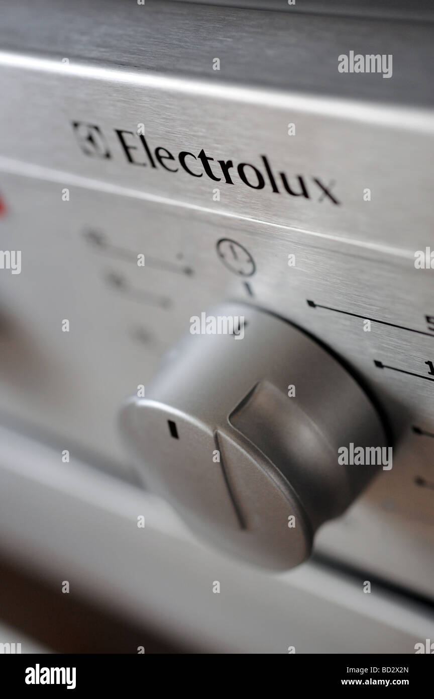 Electrolux kitchen appliance -  oven and cooker - Stock Image