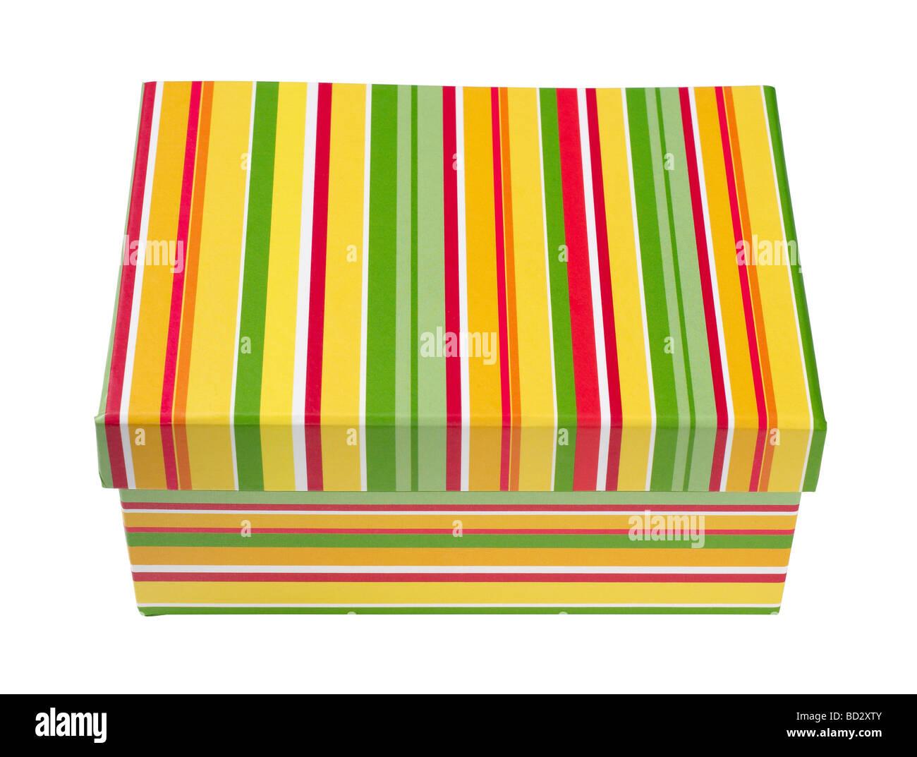 Gift Present Box - Stock Image
