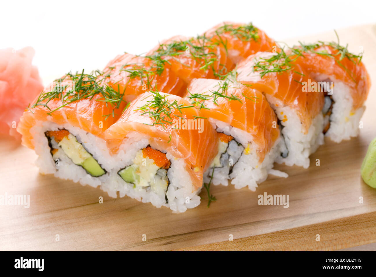 Sushi rolls - Stock Image