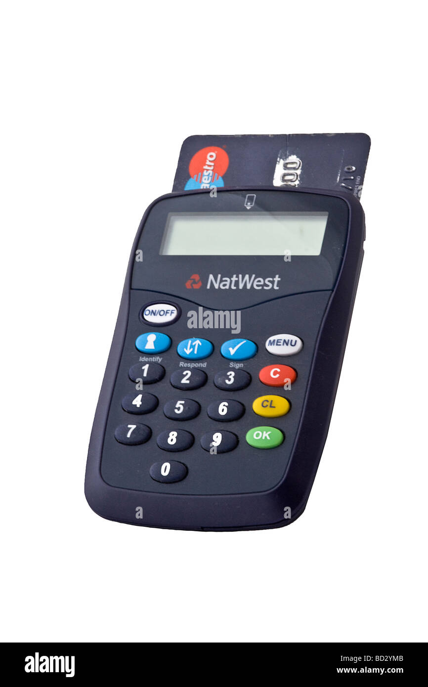 Natwest Bank Card Reader For Use With Internet Accounts Stock Photo Alamy