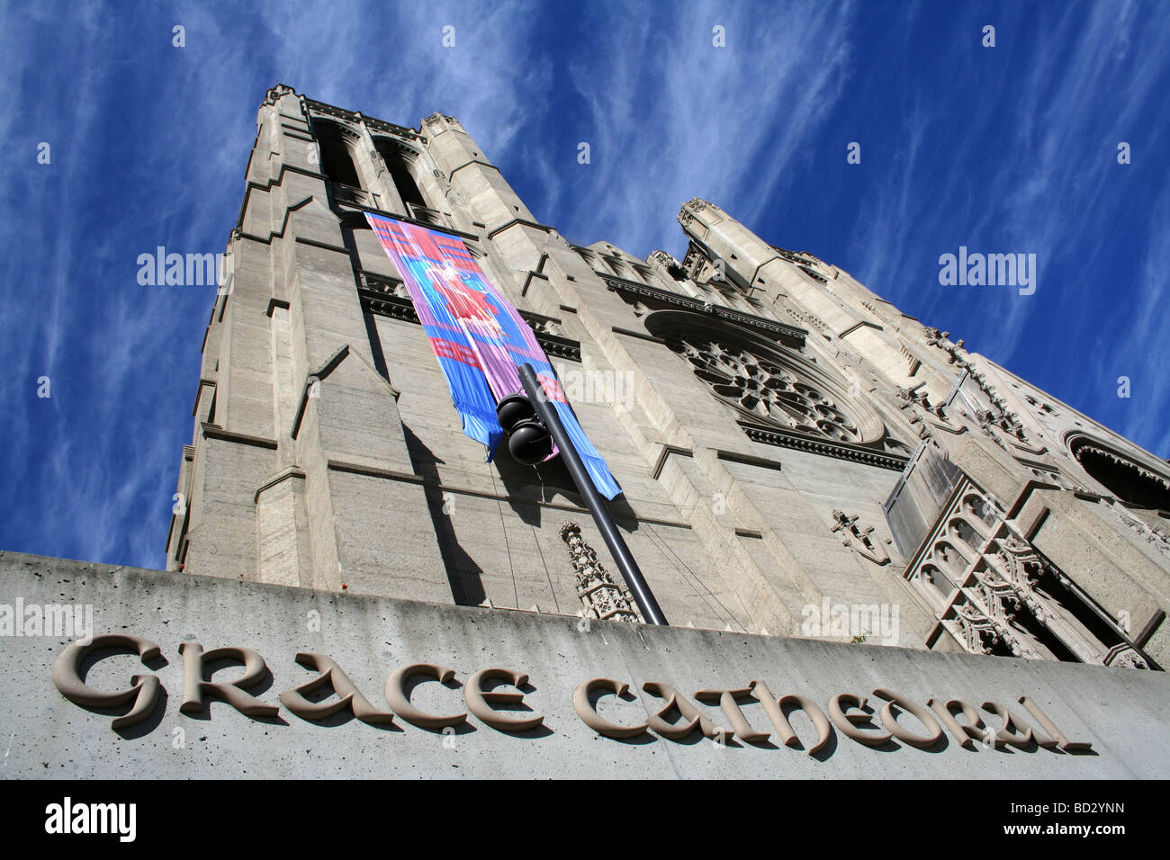 grace cathedral - Stock Image