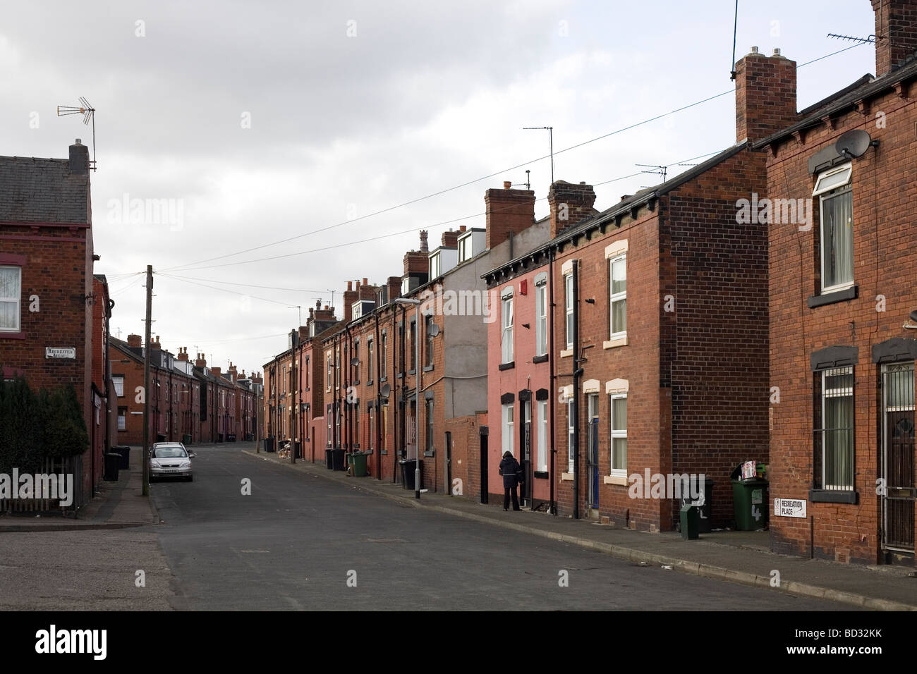 inner city area leeds west yorkshire stock photo 25268871 alamy