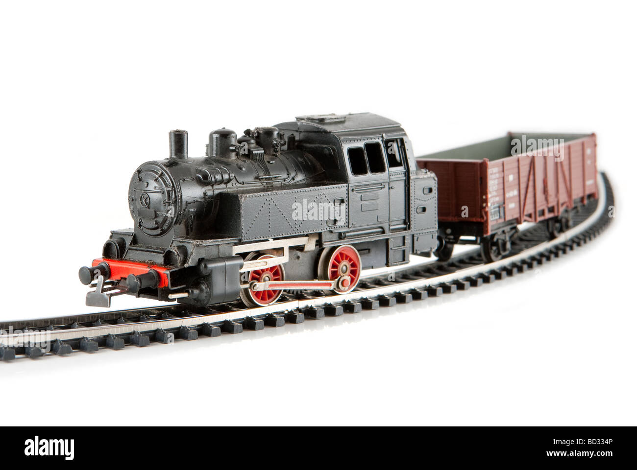 Miniature locomotive - Stock Image