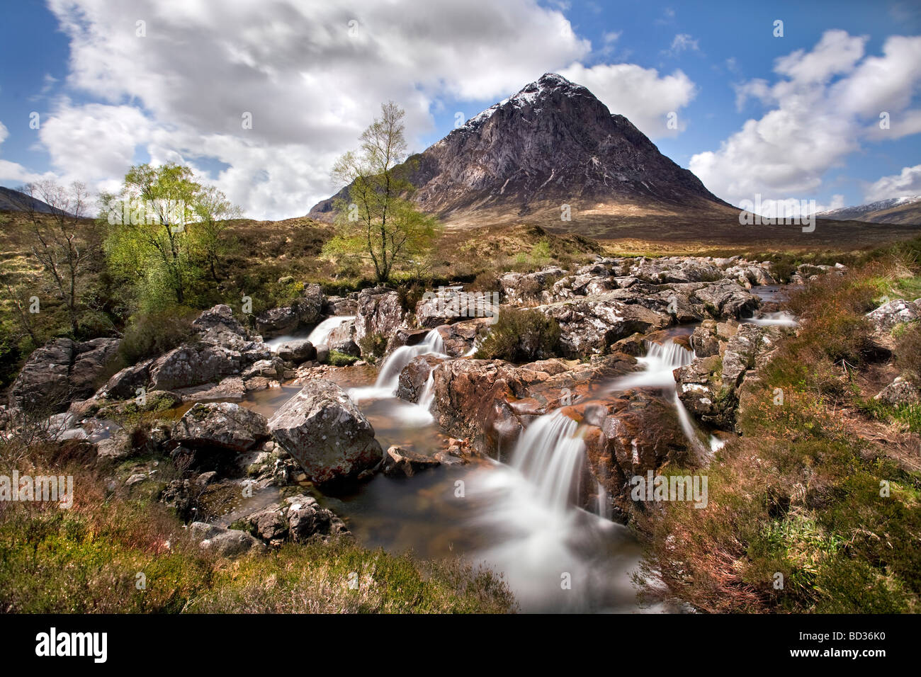 Buachaille Etive Mor, Highlands. - Stock Image