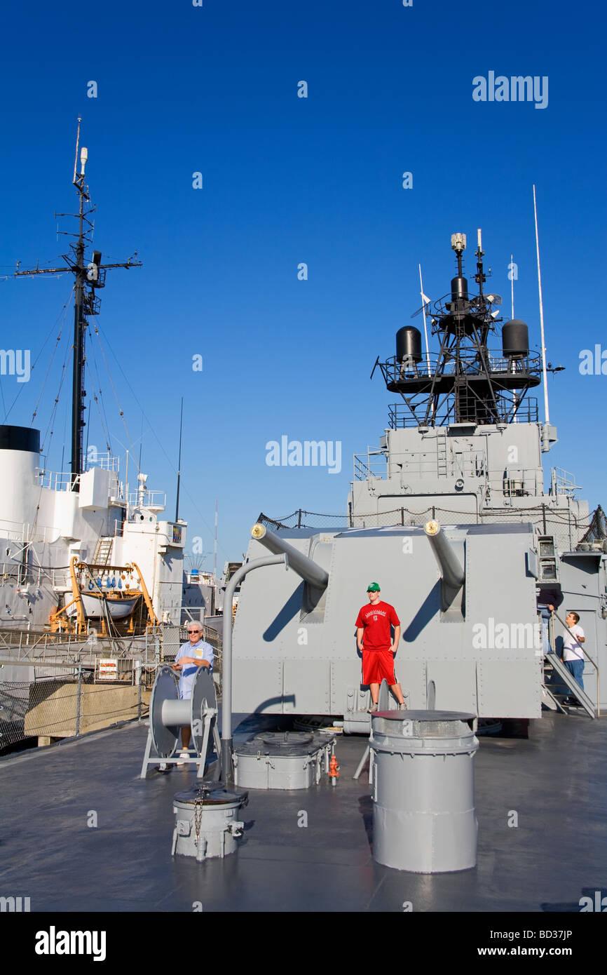 Destroyer Uss Laffey Patriots Point Naval Maritime Museum Charleston