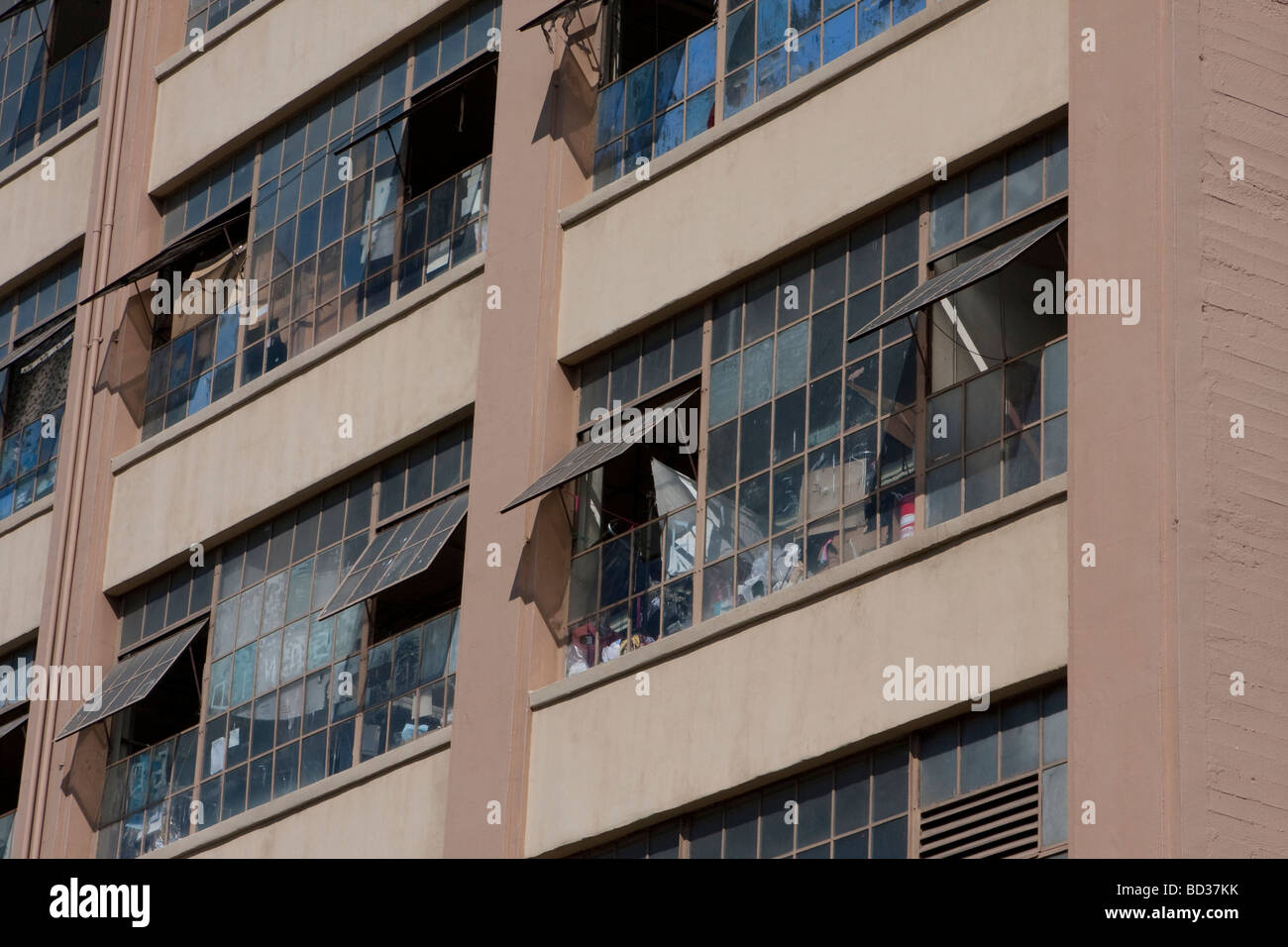 Building, Los Angeles Fashion District - Stock Image