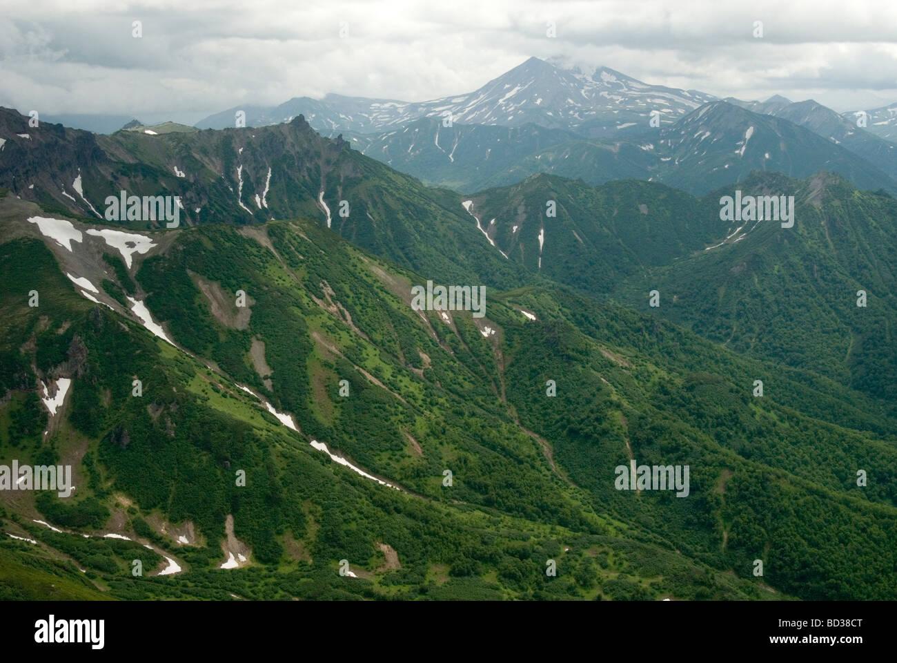 Kronotsky Nature Park, Kamchatka , Russia Stock Photo