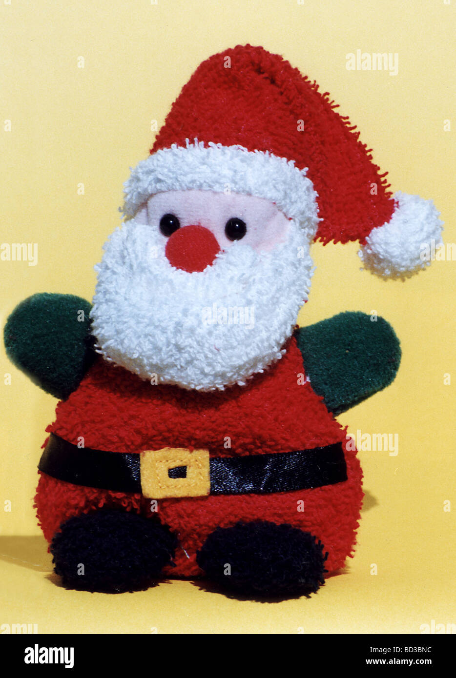 FATHER CHRISTMAS toy - Stock Image