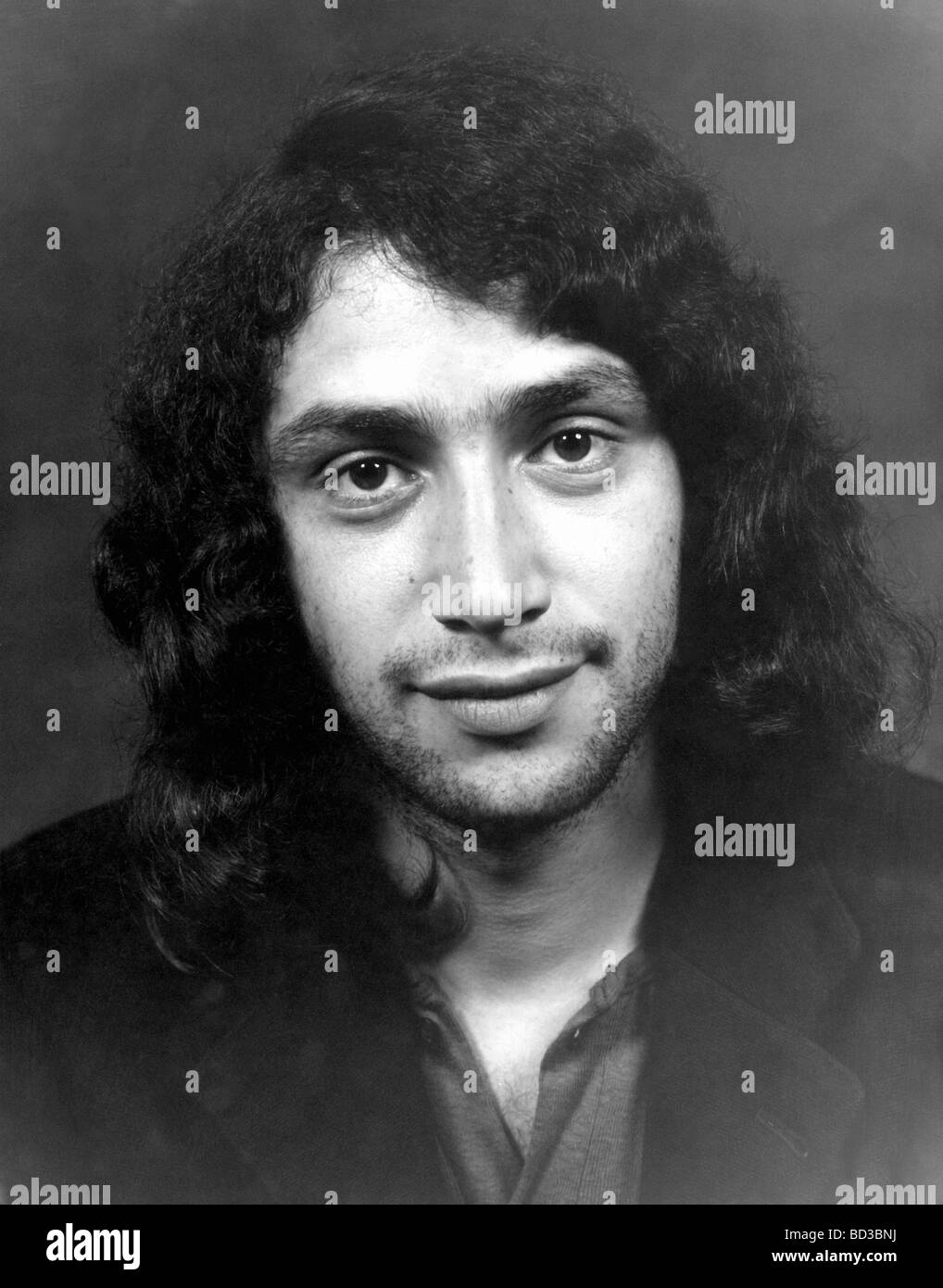 FOCUS  1970s Dutch rock group - unidentified member - Stock Image