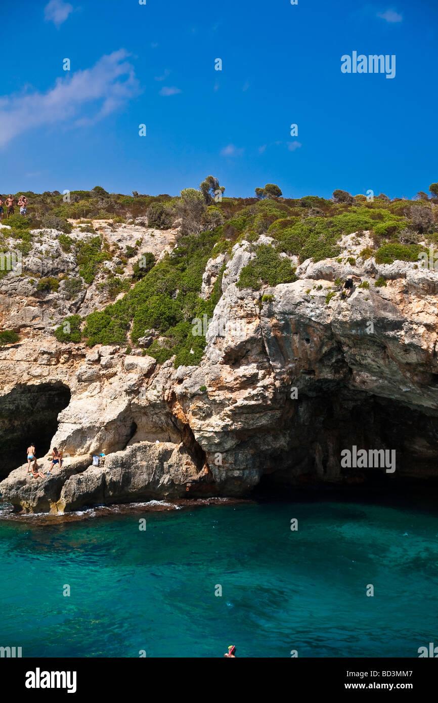Cala Varques Majorca - Stock Image