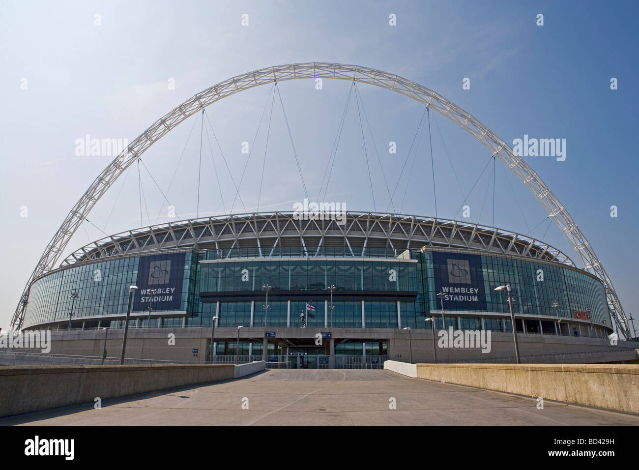 Wembley Stadium London England Thursday July 02 2009 - Stock Image