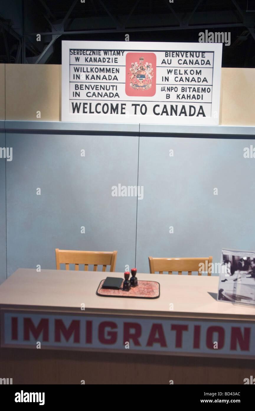 Canada Immigration Immigrant Stock Photos & Canada Immigration ...