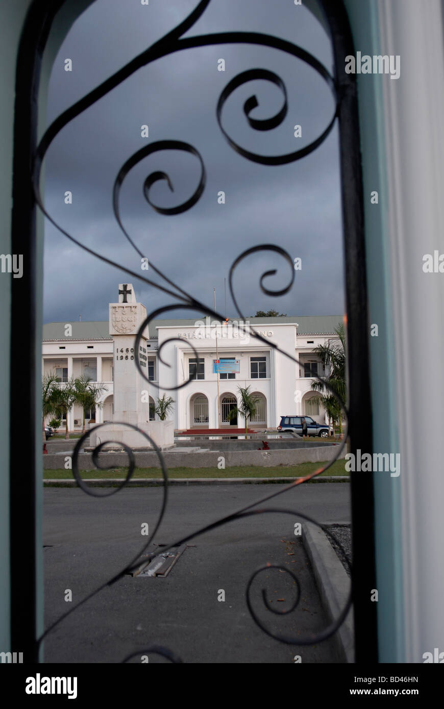The Government Palace in Dili East Timor - Stock Image