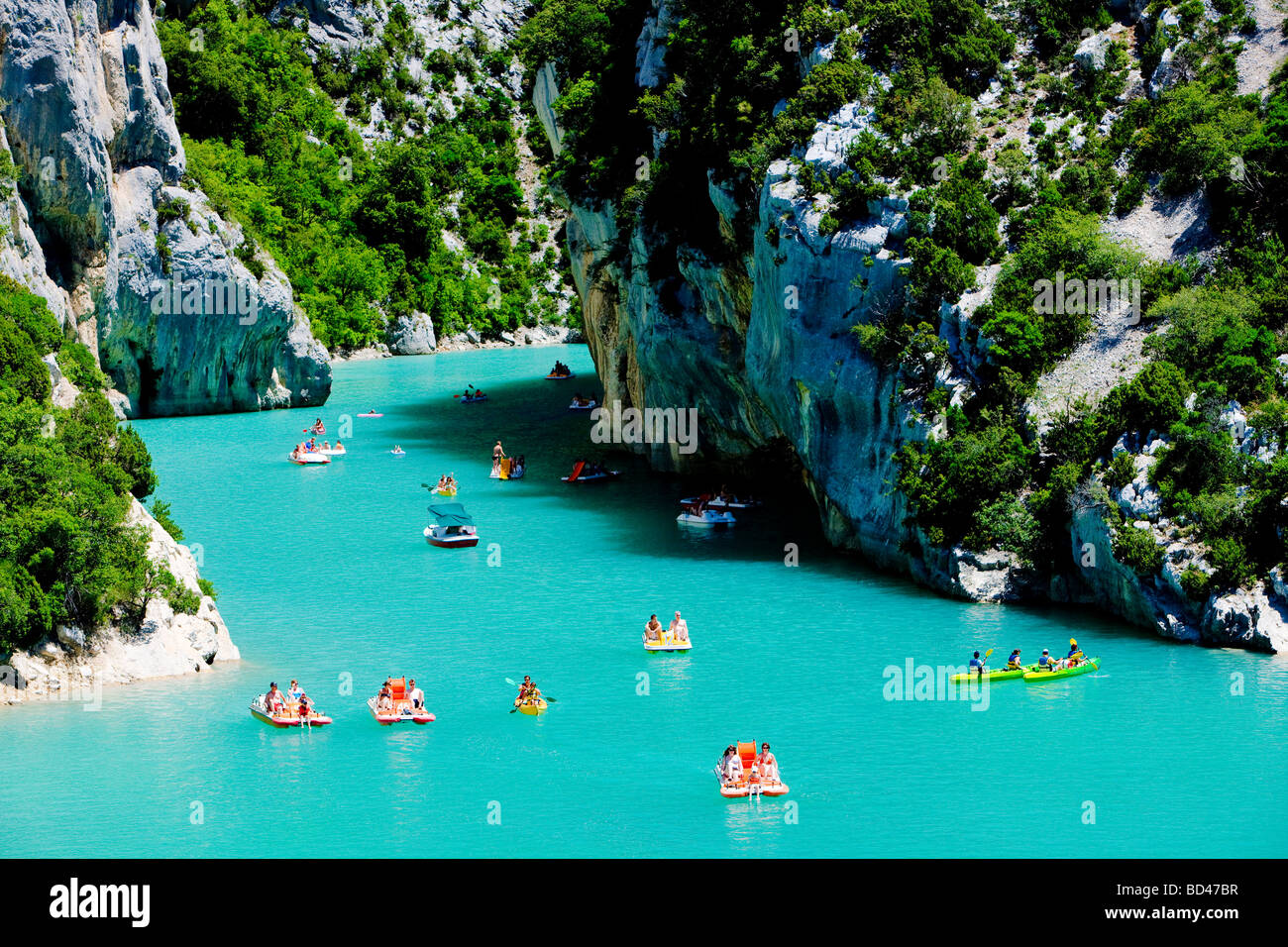 St croix lake les gorges du verdon provence france stock photo 25294523 alamy - Office du tourisme sainte croix du verdon ...