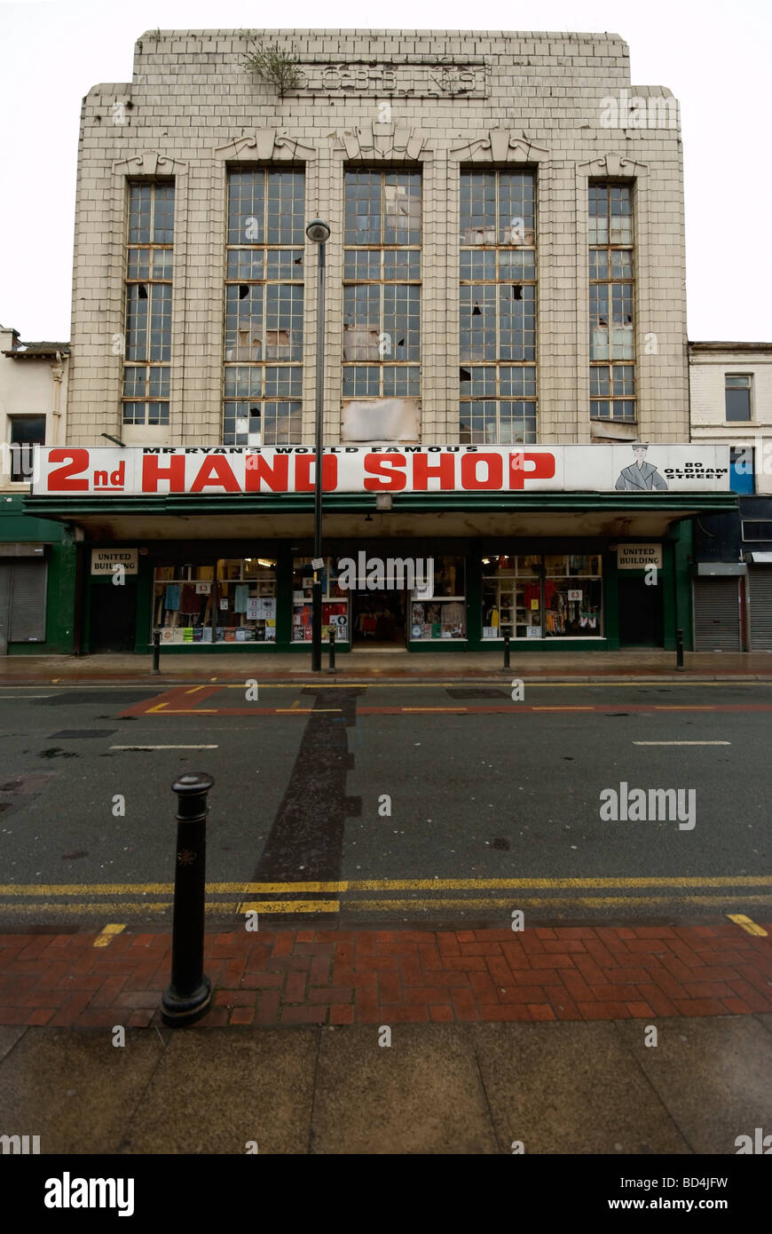 Mr Ryan's world famous 2nd hand shop - Stock Image