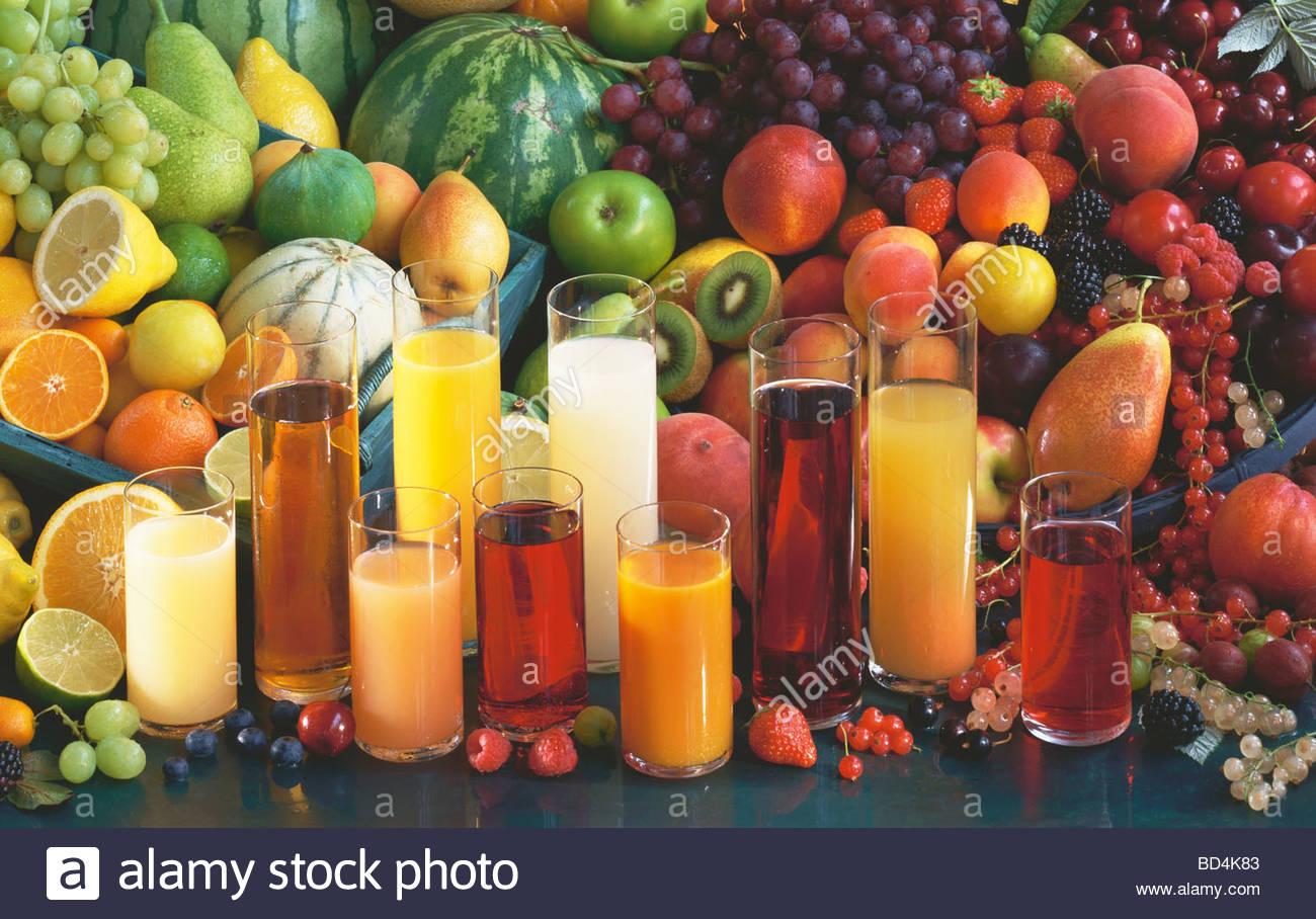 various types fruit fruit juice stock photos various types fruit