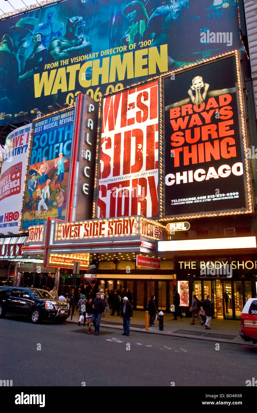 West Side Story At Palace Theater, Times Square, Manhattan