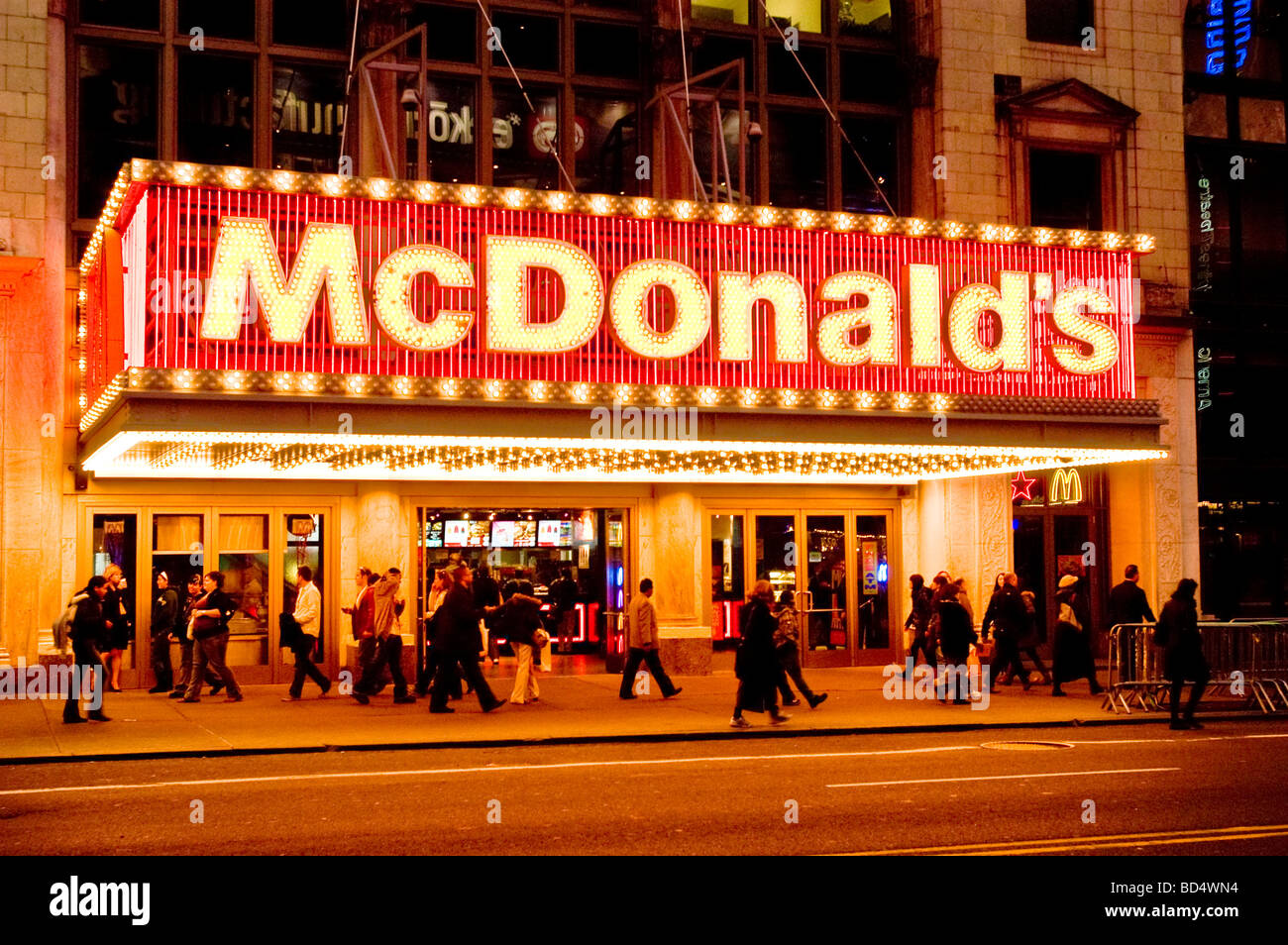 How Many Fast Food Restaurants Are In Manhattan