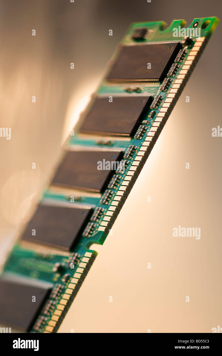 Computer chips - Stock Image
