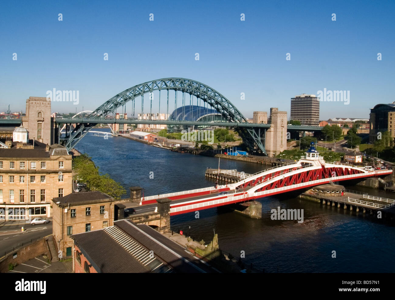 The Quayside: Newcastle Upon Tyne - Stock Image