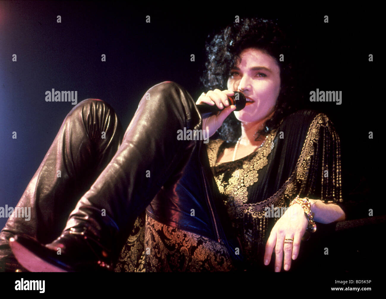 Alannah Myles - Cantante canadese nel 1990 Foto d'archivio-9625
