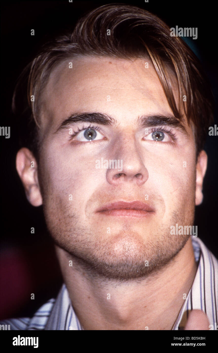 GARY BARLOW - UK pop singer with Take That about 1994 - Stock Image
