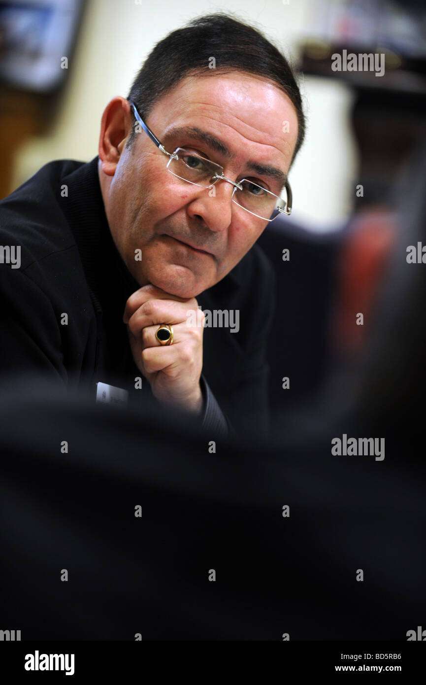 Manchester City Council chief executive Sir Howard Bernstein - Stock Image