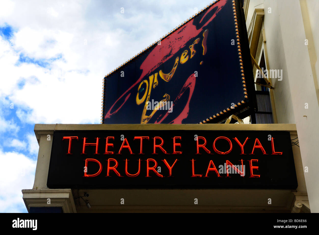 Theatre Royal Drury Lane London Britain July 09 - Stock Image