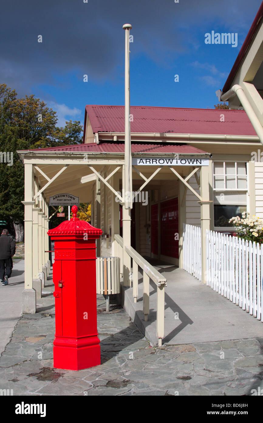 Arrowtown post office New Zealand Stock Photo